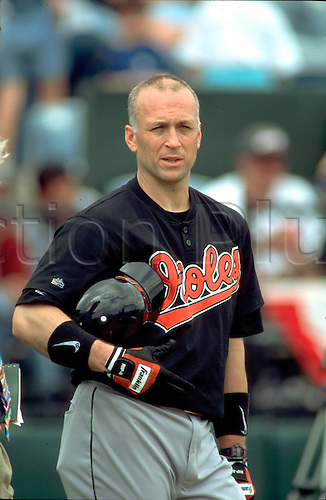 Cal Ripken of the Baltimore Orioles..