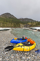 Packrafting the Matthews River, Arctic, Alaska
