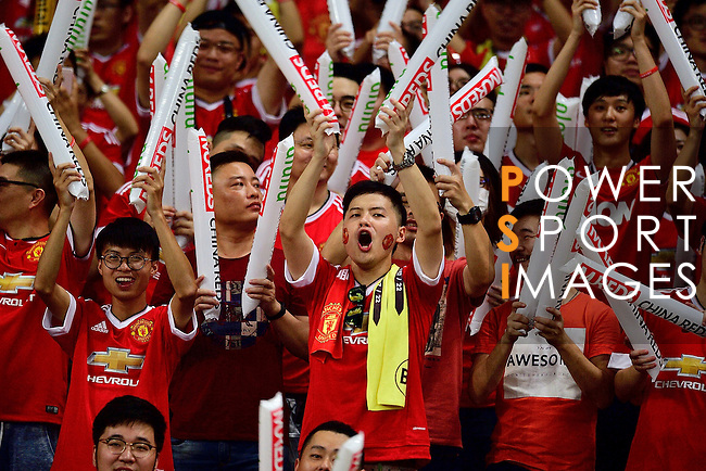 Manchester United Fans during the International Champions Cup China 2016, match between Manchester United vs Borussia  Dortmund on 22 July 2016 held at the Shanghai Stadium in Shanghai, China. Photo by Marcio Machado / Power Sport Images