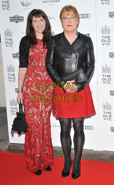 LONDON, ENGLAND - APRIL 19: guest &amp; Eddie Izzard attend the Gala Celebration in Honour of Kevin Spacey, The Old Vic theatre, The Cut, on Sunday April 19, 2015 in London, England, UK. <br /> CAP/CAN<br /> &copy;Can Nguyen/Capital Pictures