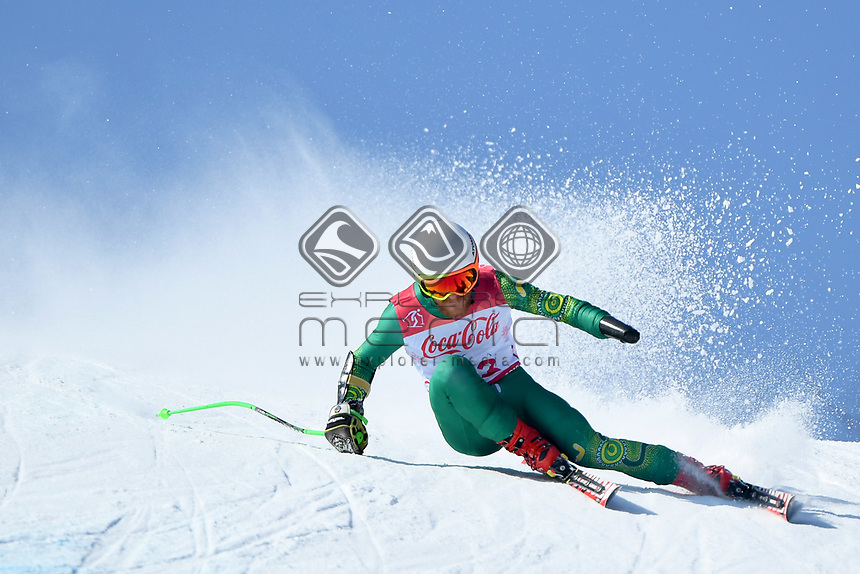 &circ;Day 2 / Super GS / Mitch Gourley<br /> PyeongChang 2018 Paralympic Games<br /> Australian Paralympic Committee<br /> PyeongChang South Korea<br /> Sunday March 11th 2018<br /> &copy; Sport the library / Jeff Crow