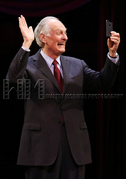 Alan Alda during the 69th Annual Theatre World Awards Presentation at the Music Box Theatre in New York City on June 03, 2013.