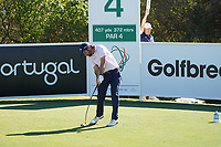 Thomas Aiken (RSA) during Round 1 of the Portugal Masters, Dom Pedro Victoria Golf Course, Vilamoura, Vilamoura, Portugal, 24/10/2019<br /> Picture Andy Crook / Golffile.ie<br /> <br /> All photo usage must carry mandatory copyright credit (© Golffile | Andy Crook)