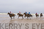 Tod McMahon Abbeyfeale horse Torres beats Come here I want you and The Russian at Glenbeigh races at Rossbeigh beach on Sunday.