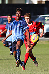 Chatham Cup: Richmond Athletic v Nelson College, Jubilee Park, Richmond, New Zealand, 2 June 2014<br /> Photo: Marc Palmano/shuttersport.co.nz