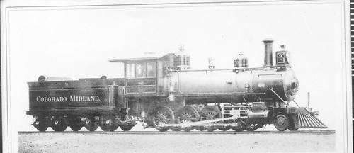 CM #9 class 115.<br /> Colorado Midland