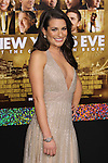 "LEA MICHELE. World Premiere of Warner Brothers Pictures' ""New Year's Eve,"" at Grauman's Chinese Theatre. Hollywood, CA USA. December 5, 2011.©CelphImage"