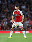Arsenal's Granit Xhaka in action during the premier league match at the Emirates Stadium, London. Picture date 11th August 2017. Picture credit should read: David Klein/Sportimage