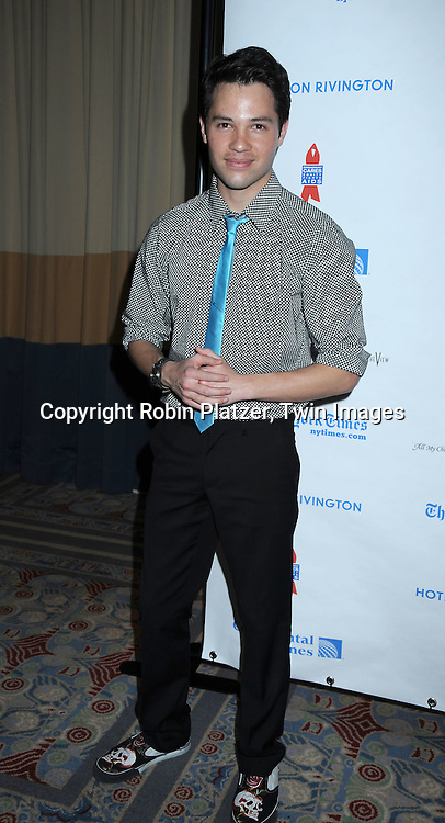 Jason Tam of One Life to Live attending The 6th Annual ABC And SOAPnet salute to BROADWAY CARES/ EQUITY FIGHTS AIDS Benefit post party on March 21, 2010 at The Marriott Marquis Hotel in New York City.