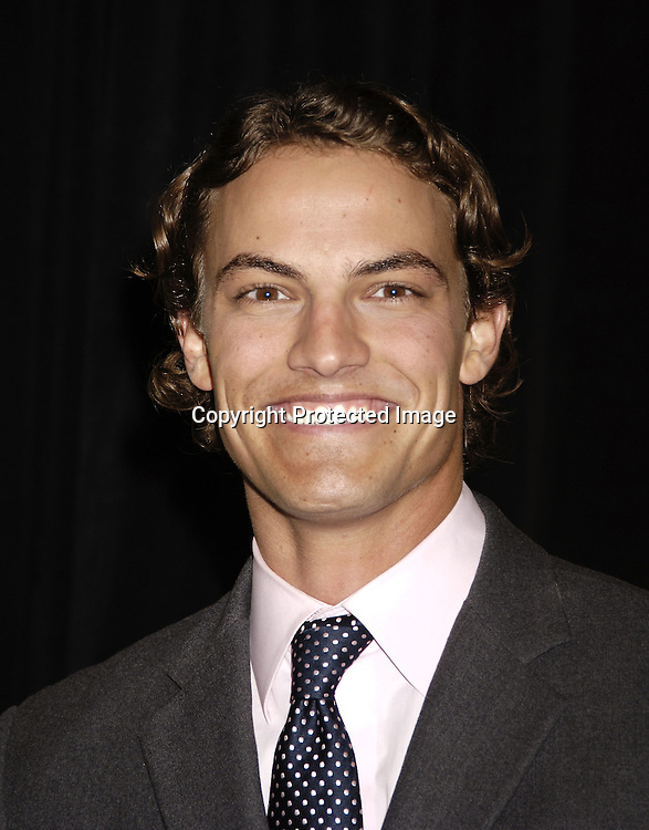 Blake Towsley of Survivor ..at the 11th Annual Daytime Television Salutes St. Jude Children's Research Hospital benefit hosted by Martha Byrne on October 14, 2005 at The New York Marriott Marquis Hotel. ..Photo by Robin Platzer, Twin Images