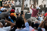 Justin Rose (ENG) in action on the 10th hole during the third round of the 76 Open D'Italia, Olgiata Golf Club, Rome, Rome, Italy. 12/10/19.<br /> Picture Stefano Di Maria / Golffile.ie<br /> <br /> All photo usage must carry mandatory copyright credit (© Golffile | Stefano Di Maria)