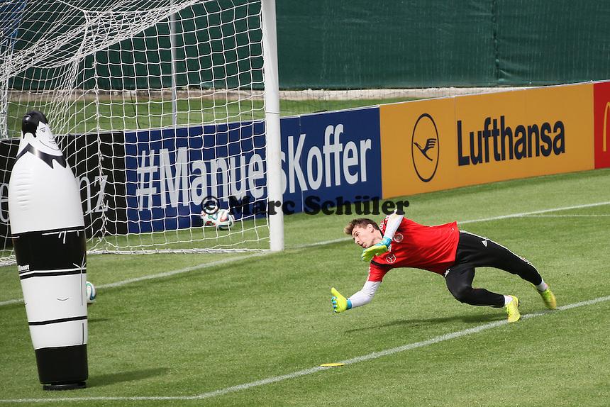 Ron Robert Zieler - Abschlusstraining der Deutschen Nationalmannschaft gegen die U20 im Rahmen der WM-Vorbereitung in St. Martin