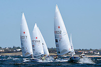 Laser/ Fleet racing<br /> ISAF Sailing World Cup Final - Melbourne<br /> St Kilda sailing precinct, Victoria<br /> Port Phillip Bay Wednesday 7 Dec 2016<br /> &copy; Sport the library / Jeff Crow