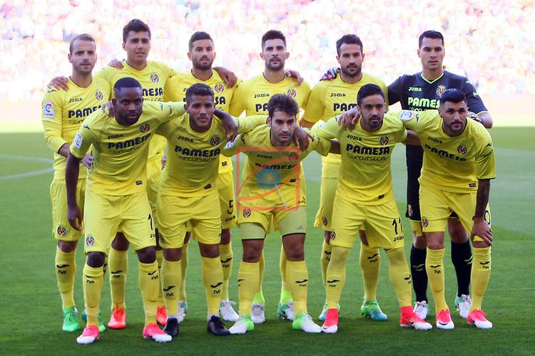 League Santander 2016/2017. Game: 36.<br /> FC Barcelona vs Villarreal CF: 4-1.