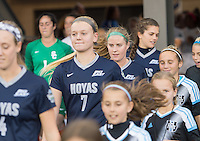 San Jose, CA - December 2, 2016: The NCAA Women's Soccer Championships. The semifinals; Georgetown Hoyas vs the USC Trojans at Avaya Stadium. Final score, Georgetown 0, USC 1.