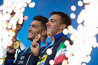 DETTI Gabriele ITA gold medal PALTRINIERI Gregorio ITA bronze medal<br /> swimming<br /> Men's 800m freestyle final<br /> day 13 26/07/2017 <br /> XVII FINA World Championships Aquatics<br /> Photo &copy; Giorgio Perottino/Deepbluemedia/Insidefoto