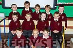 The pupils in Scoil Mhuire Gan Smal on their first day of school in Castleisland on Tuesday front row l-r: Keagan O'Brien, Michal Andrzejewski, Dimitri Zogiopoulos, Middle row Conor McCarthy, Anthony McCarthy, Lisa Daly, Cillian Pullman. Back row: Tommy Begley, Zahari Georgiev , Mantas Makcinskas,  Rackas Voveris and  Lorcan Hickey,