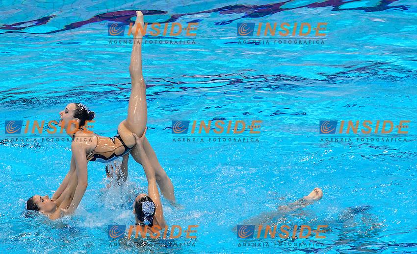 SPAIN ESP <br /> SALVADOR Cristina FERRERAS Berta JAUMA Helena MAS Meritxell CAMACHO Clara JIMENEZ Cecilia RAMIREZ Paula <br /> JUAREZ Carmen CABELLO Alba LEVY Sara <br /> Free Combination Final <br /> London, Queen Elizabeth II Olympic Park Pool <br /> LEN 2016 European Aquatics Elite Championships <br /> Synchronized Swimming <br /> Day 04 12-05-2016<br /> Photo Andrea Staccioli/Deepbluemedia/Insidefoto