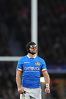Ian McKinley of Italy during the Guinness Six Nations match between England and Italy at Twickenham Stadium on Saturday 9th March 2019 (Photo by Rob Munro/Stewart Communications)