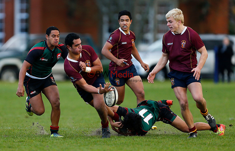Kings College v Onehunga College, 1st XV Rugby, Kings College Auckland, New Zealand. Saturday 6 July 2013. Photo: Simon Watts / www.bwmedia.co.nz/Kings College