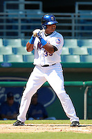 New York Mets minor league outfielder Cesar Puello (39) during a game vs. the Minnesota Twins in an Instructional League game at City of Palms Park in Fort Myers, Florida;  October 4, 2010.  Photo By Mike Janes/Four Seam Images