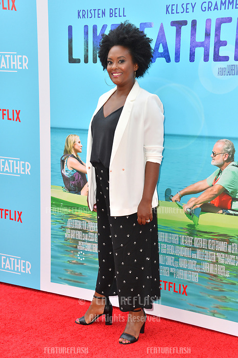 Blaire Brooks at the Los Angeles premiere of &quot;Like Father&quot; at the Arclight Theatre, Los Angeles, USA 31 July 2018<br /> Picture: Paul Smith/Featureflash/SilverHub 0208 004 5359 sales@silverhubmedia.com