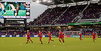 Orlando, FL - Friday Oct. 06, 2017: USMNT during a 2018 FIFA World Cup Qualifier between the men's national teams of the United States (USA) and Panama (PAN) at Orlando City Stadium.