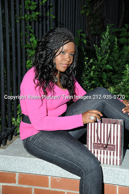 Shenell Edmonds photographed on September 25, 2010 in New York City.