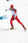 Daiki Kawayoke (JPN), <br /> MARCH 12, 2018 - Cross-Country Skiing : <br /> Men's free 20 km Standing  <br /> at Alpensia Biathlon Centre   <br /> during the PyeongChang 2018 Paralympics Winter Games in Pyeongchang, South Korea. <br /> (Photo by Yusuke Nakanishi/AFLO)