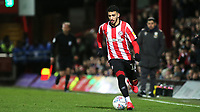 Said Benrahma of Brentford in action during Brentford vs Leeds United, Sky Bet EFL Championship Football at Griffin Park on 11th February 2020