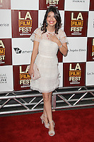 Alessandra Mastronardi at Film Independent's 2012 Los Angeles Film Festival Premiere of 'To Rome With Love' at Regal Cinemas L.A. LIVE Stadium 14 on June 14, 2012 in Los Angeles, California. &copy;&nbsp;mpi21/MediaPunch Inc. NORTEPHOTO.COM<br />