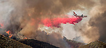 September 26, 2016: Marshes Fire near Moccasin, California.  The Marshes Fire was a 2016 wildfire that burned just north of the Don Pedro Reservoir in Tuolumne County, California. The fire, which started on September 26, burned 1,080 acres of land from before being contained on October 4.  Photo by Al Golub/Golub Photography