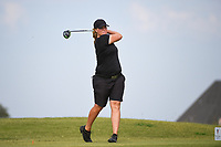 Caroline Hedwall (SWE) watches her tee shot on 2 during round 4 of the Volunteers of America Texas Classic, the Old American Golf Club, The Colony, Texas, USA. 10/6/2019.<br /> Picture: Golffile | Ken Murray<br /> <br /> <br /> All photo usage must carry mandatory copyright credit (© Golffile | Ken Murray)