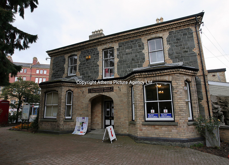 The Town Council Offices in Llandrindod Wells in Powys, mid Wales, UK