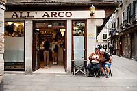 All' Arco, Bàcaro in Venice, serving popular Cicchetti, Italy