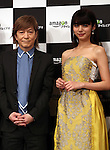 "May 31, 2016, Tokyo, Japan - Casts of Amazon Japan's documentary drama ""Invisible Tokyo"" music composer Tetsuya Komuro (L) and actress Elaiza Ikeda pose for photo at a promotional event for Amazon Prime Video in Tokyo on Tuesday, May 31, 2016. Amazon Japan announced they would increase original contents for Amazon' video distribution service in Japan.      (Photo by Yoshio Tsunoda/AFLO)"
