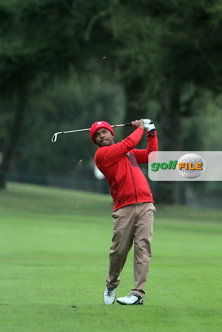 Mohd Siddikur (BAN) on the 10th on Day 2 of the Omega European Masters 2012, Golf Club Crans-Sur-Sierre, Crans Montana, Switzerland, 31/8/12...(Photo Jenny Matthews/www.golffile.ie)