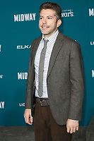 "LOS ANGELES - NOV 5:  Marco Shepherd at the ""Midway"" Premiere at the Village Theater on November 5, 2019 in Westwood, CA"