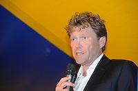SKUTSJESILEN: FRYSLAN: SKS Skûtsjesilen 2013, SKS voorzitter Peter de Jong, ©foto Martin de Jong