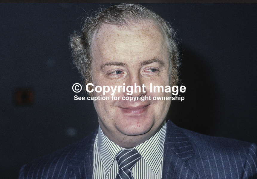 Ivan Cooper, prominent member, SDLP, Social Democratic &amp; Labour Party, N Ireland, UK, one-time member of the Ulster Unionist Party,198011000339.<br />