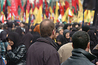 Achoura is the most important festival in the Shiite Muslim calender. Dahieh was heavily bombed by the Israelis during the 2006 war. It is Hezbollah's biggest stronghold in the country.