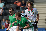 NED - Amsterdam, Netherlands, August 20: During the men Pool B group match between Germany (white) and Ireland (green) at the Rabo EuroHockey Championships 2017 August 20, 2017 at Wagener Stadium in Amsterdam, Netherlands. Final score 1-1. (Photo by Dirk Markgraf / www.265-images.com) *** Local caption *** Anton Boeckel #23 of Germany