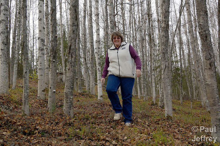 Fran Lynch in a United Methodist deaconess in Willow, Alaska, involved in a variety of ministries with people in the region.