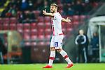 S&ouml;dert&auml;lje 2014-11-09 Fotboll Kval till Superettan Assyriska FF - &Ouml;rgryte IS :  <br /> Assyriskas Sotiris Papagiannopoulus gestikuelrar under matchen mellan Assyriska FF och &Ouml;rgryte IS <br /> (Foto: Kenta J&ouml;nsson) Nyckelord:  S&ouml;dert&auml;lje Fotbollsarena Kval Superettan Assyriska AFF &Ouml;rgryte &Ouml;IS portr&auml;tt portrait