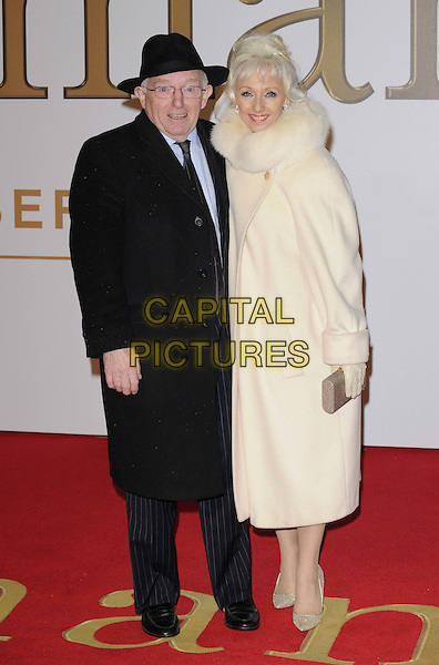 LONDON, ENGLAND - JANUARY 14: Paul Daniels &amp; Debbie McGee attend the &quot;Kingsman: The Secret Service&quot; world film premiere, Odeon Leicester Square cinema, Leicester Square, on Wednesday January 14, 2015 in London, England, UK. <br /> CAP/CAN<br /> &copy;Can Nguyen/Capital Pictures