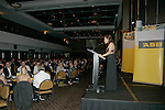 Stacey Morrison. ASB College Sport Young Sportperson of the Year Awards 2007 held at Eden Park on November 15th, 2007.