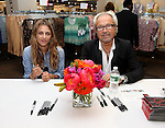 NEW YORK - JUNE 17:  (L-R)Charlotte Ronson and Mick Jones attend a meet & greet at JCPenney on June 17, 2010 in New York City.  (Photo by Donald Bowers)