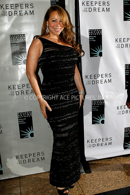 WWW.ACEPIXS.COM . . . . .  ....April 15 2010, New York City....Singer Mariah Carey arriving at the 12th annual Keepers Of The Dream Awards at the Sheraton New York Hotel & Towers on April 15, 2010 in New York City.....Please byline: NANCY RIVERA- ACEPIXS.COM.... *** ***..Ace Pictures, Inc:  ..Tel: 646 769 0430..e-mail: info@acepixs.com..web: http://www.acepixs.com