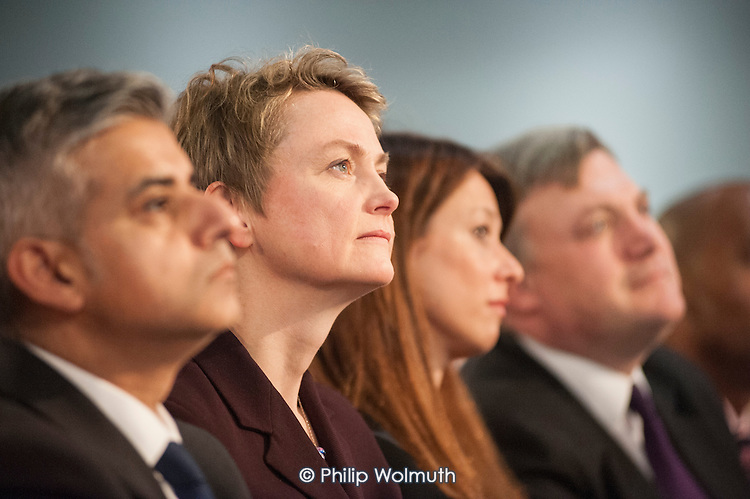 Yvette Cooper MP. Labour Party Special Conference on reform of its links to trade unions, ExCel Centre, London.