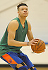 Kevin Knox of the New York Knicks practices at Madison Square Garden Training Center in Greenburgh, NY on Friday, Sept. 28, 2018.